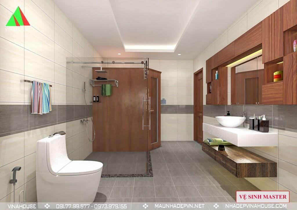 Nhà vệ sinh trong phòng ngủ 4