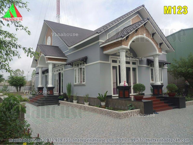 Hình ảnh thực tế nhà cấp 4 mái thái 3 phòng ngủ ở Biên Hòa