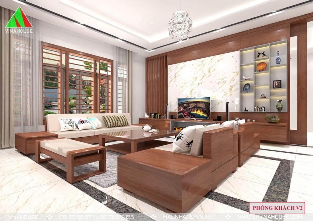 Phòng khách thoáng đẹp