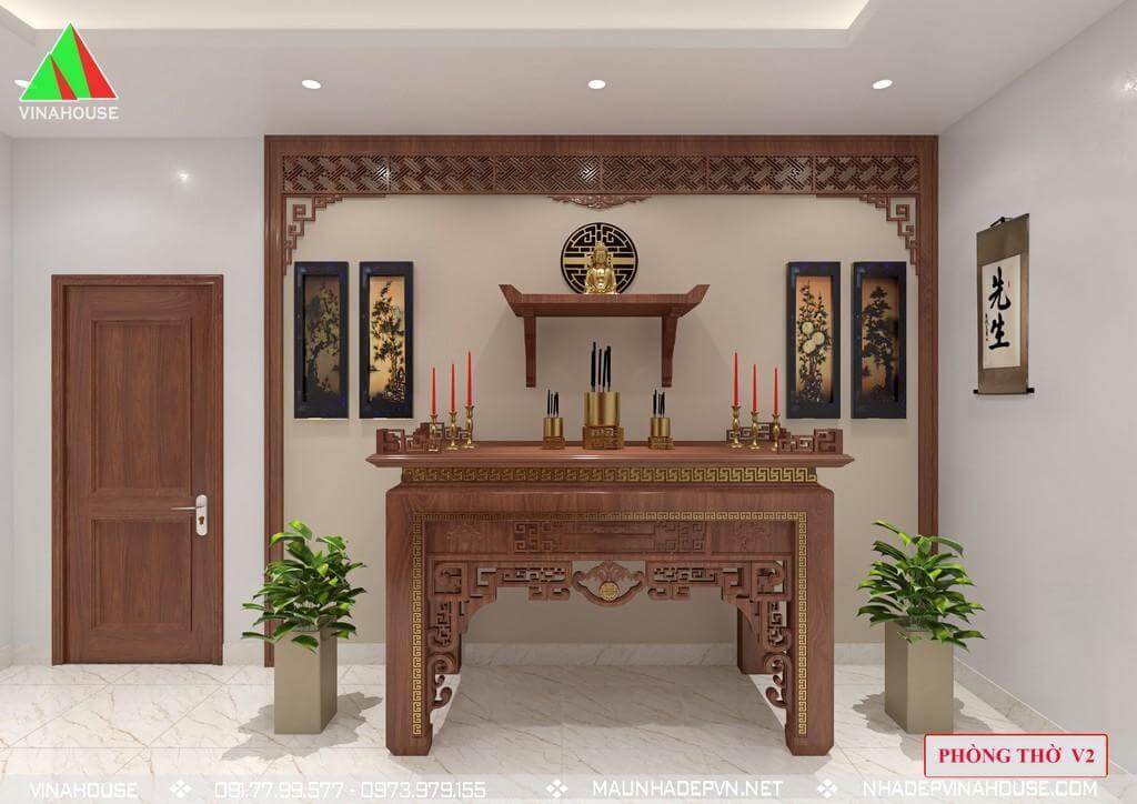 Phòng thờ ở tầng 3