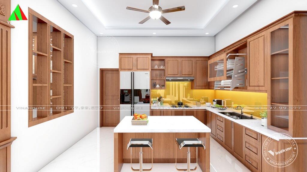 Phòng bếp hiện đại đẹp