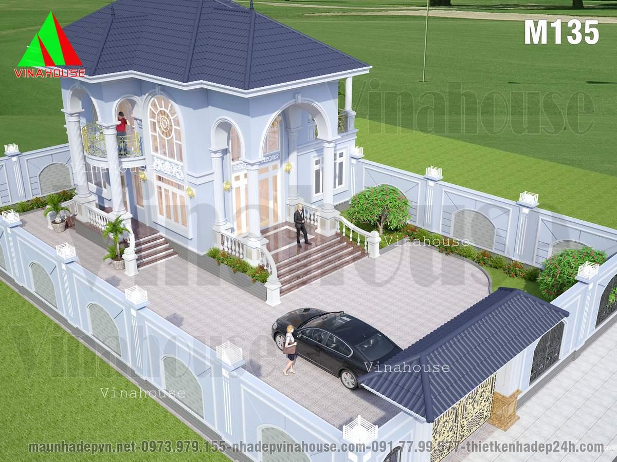 Hình ảnh quy hoạch tổng thể biệt thự vườn
