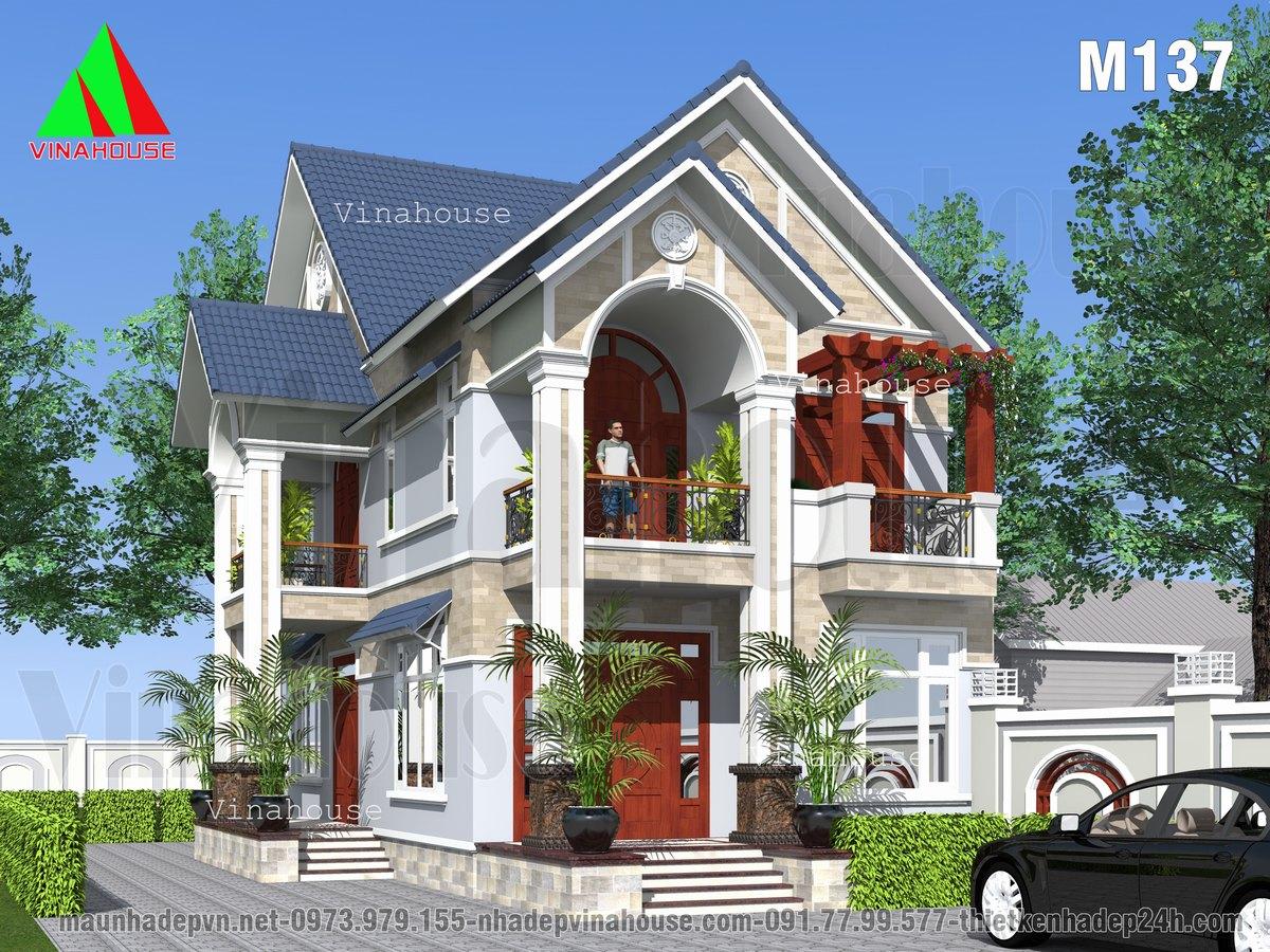 Biệt thự 2 tầng đẹp ở đồng nai