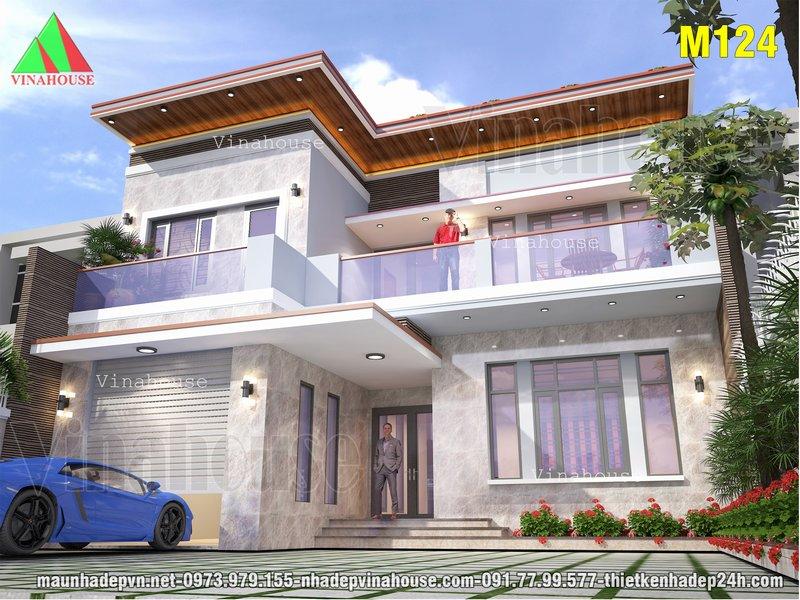 Biệt thự hiện đại 2 tầng đẳng cấp ở Biên Hòa