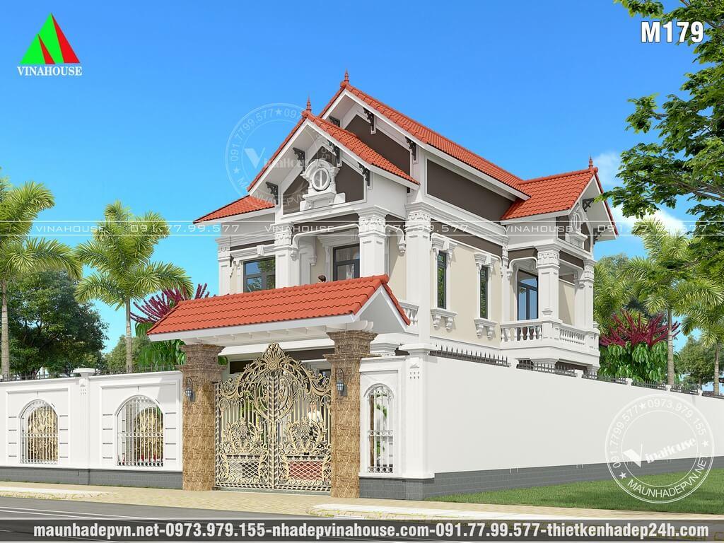 Biệt thự 2 tầng đẹp ở Biên Hòa