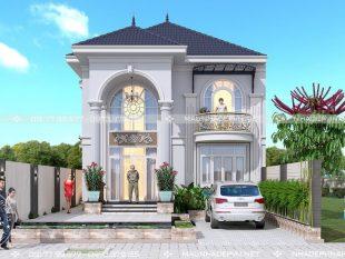biệt thự 2 tầng tân cổ điển ở Biên Hòa