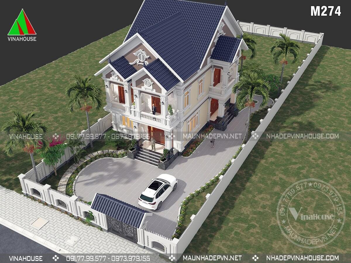 Những mẫu biệt thự đẹp nhất 2021
