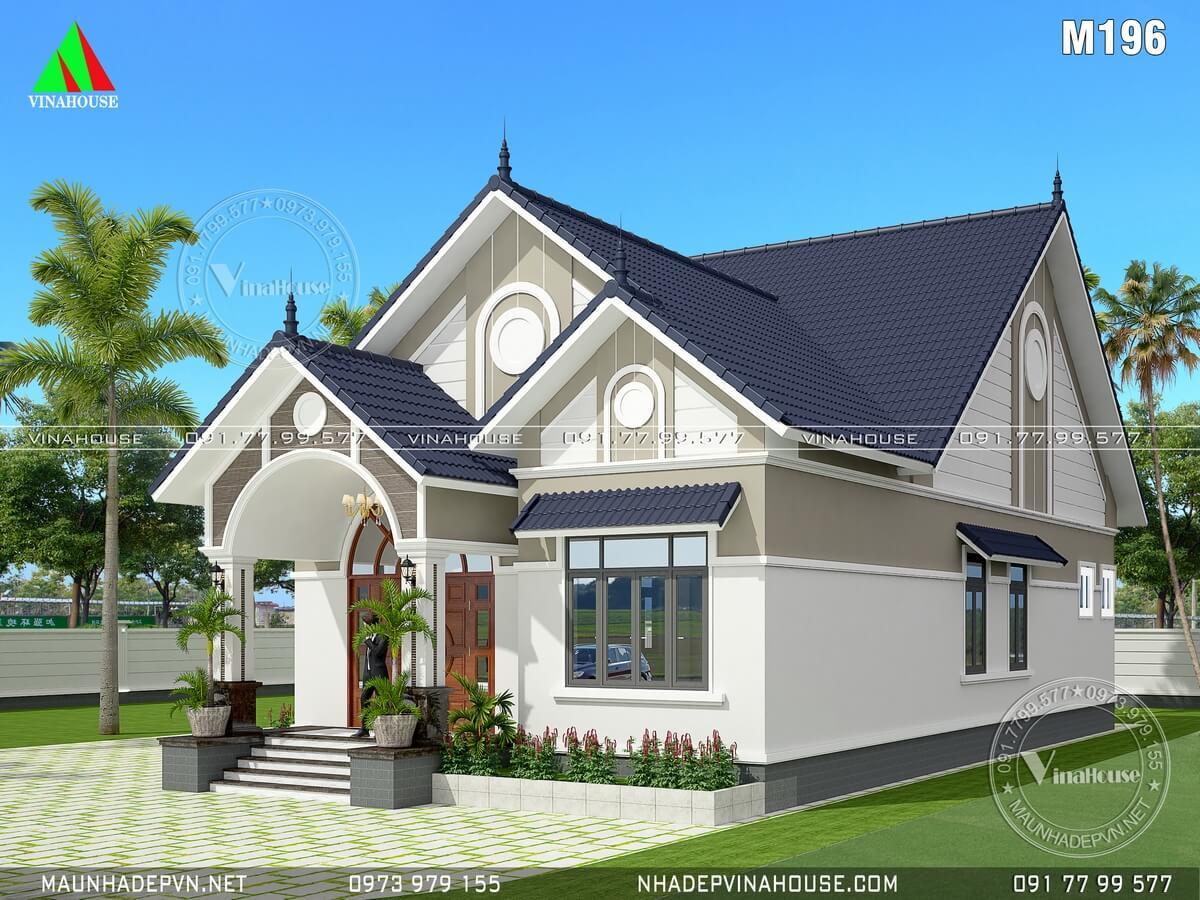 Nhà mái thái đẹp M196