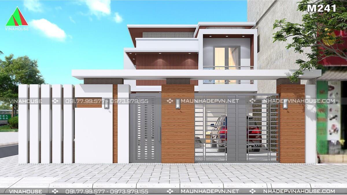thiết kế cổng nhà hiện đại