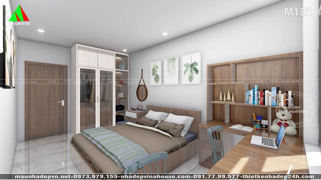 Phòng ngủ vợ chồng ở gác lửng