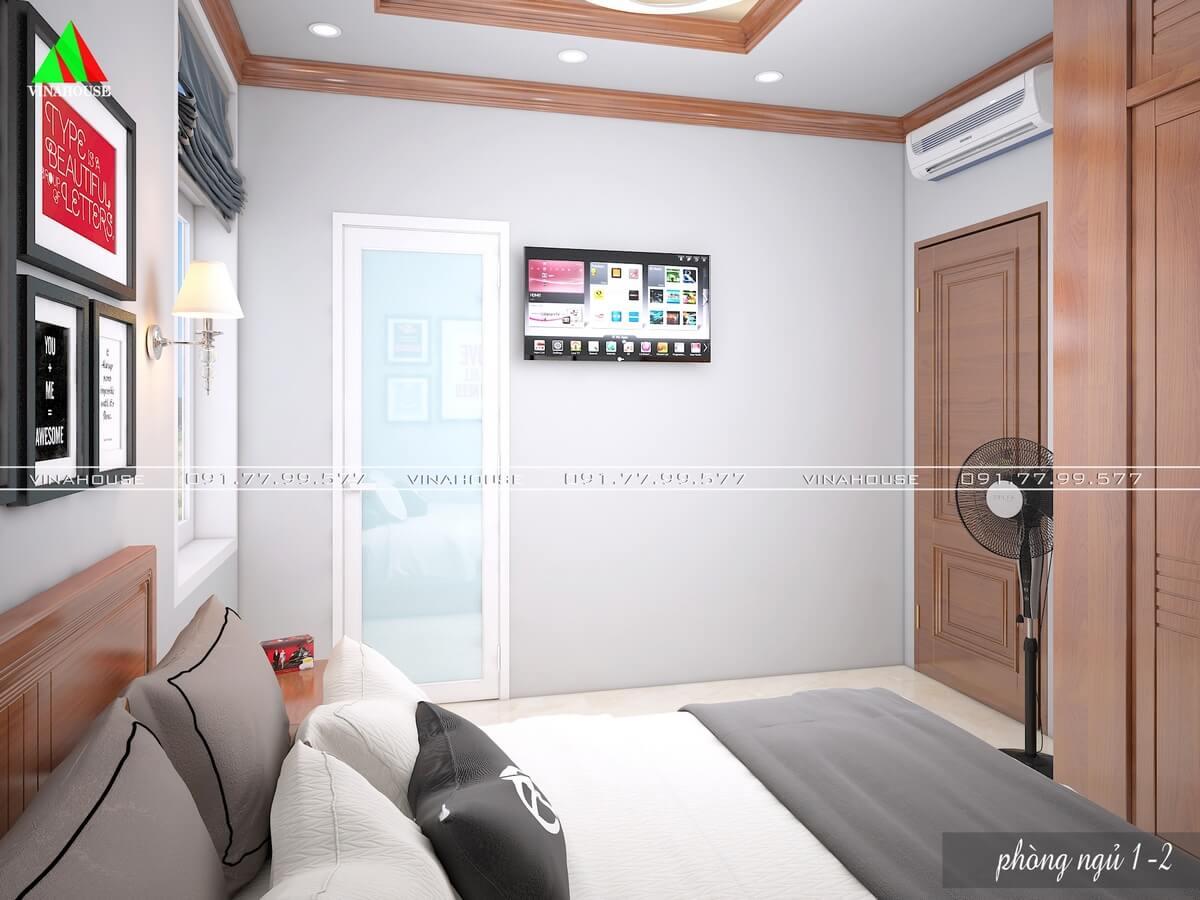 Phòng ngủ 1 ở tầng trệt