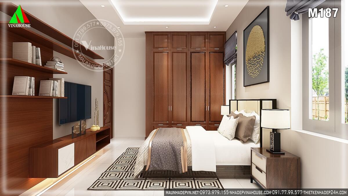 Phòng ngủ 1 ở tầng trệt dành cho vợ chồng