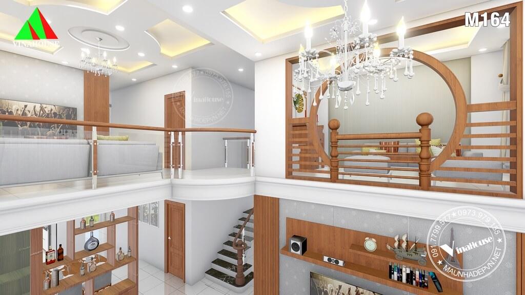 Biệt thự thông tầng cho các phòng thêm thoáng và sang trọng
