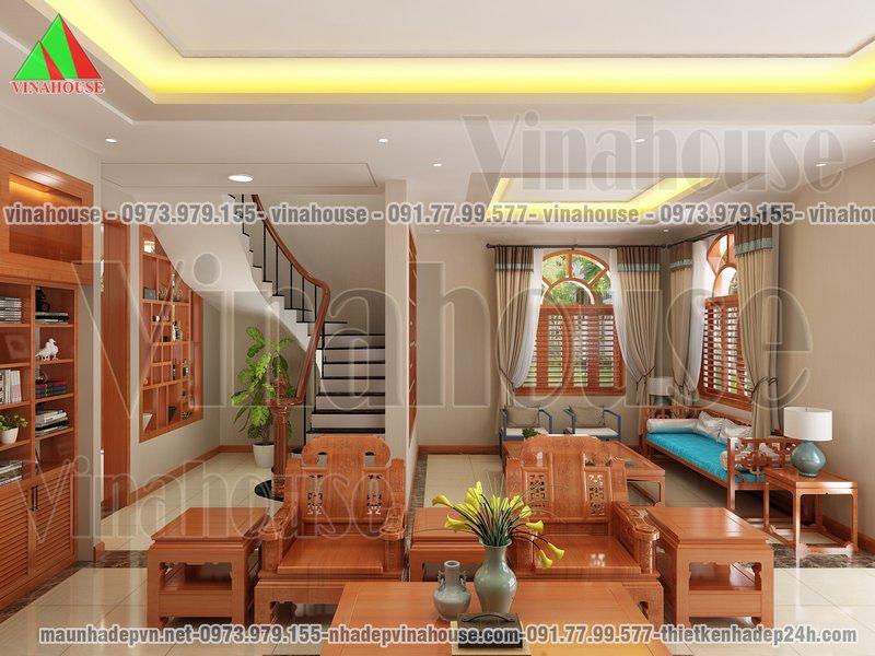 Phòng khách đẹp rộng
