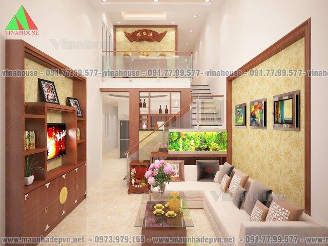 phong-khach-nha-ong-cap-4-mai-thai