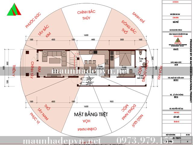 phong thuy nha cap 4 co gac lung mai thai 5x15 dong nai (2)