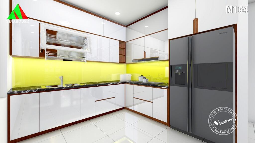 Tủ bếp hiện đại gọn gàng