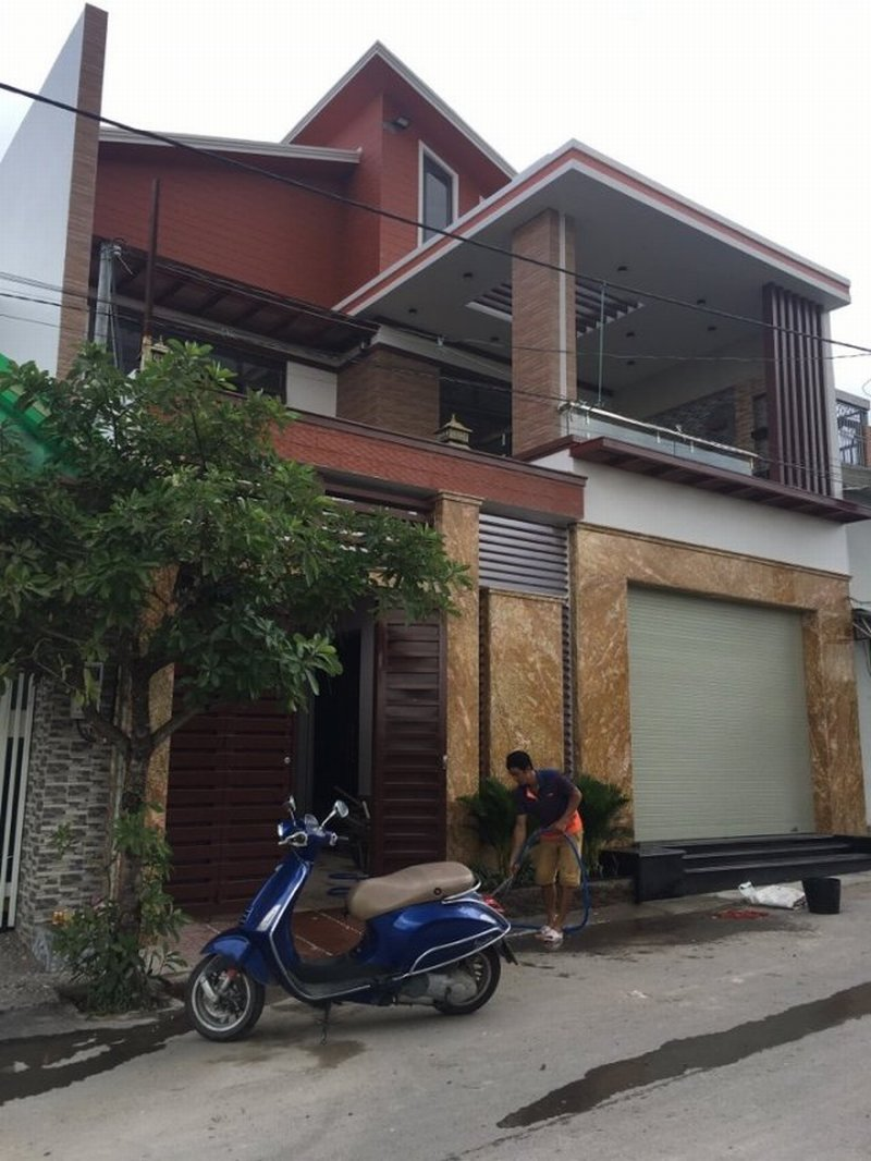 Biệt thự đẹp đã được thi công hoàn thiện năm 2018 ở Trảng Dài, Biên Hòa