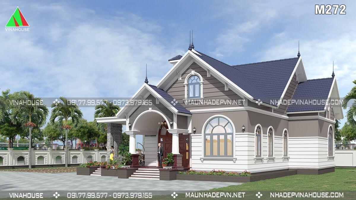 Thiết kế nhà tân cổ điển